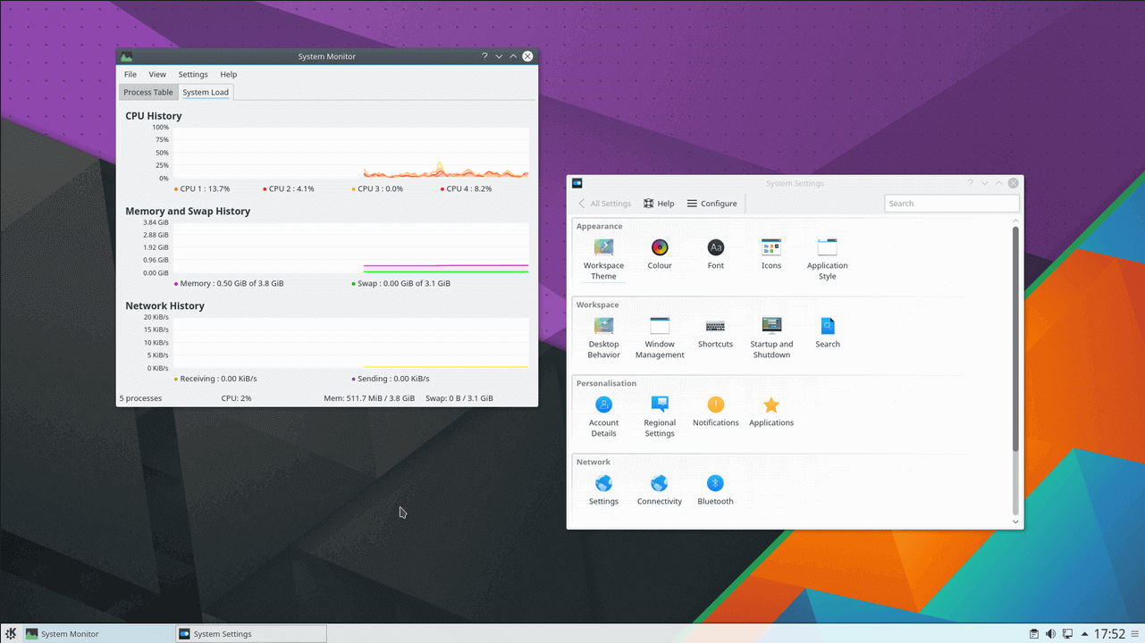 KDE-Plasma-System-Monitor-Window