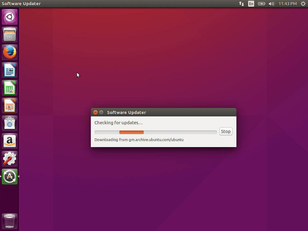 Checking-for-Ubuntu-Updates