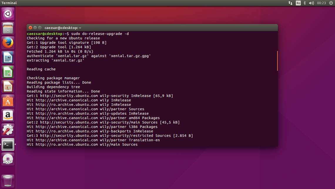 Ubuntu-Release-Upgrade