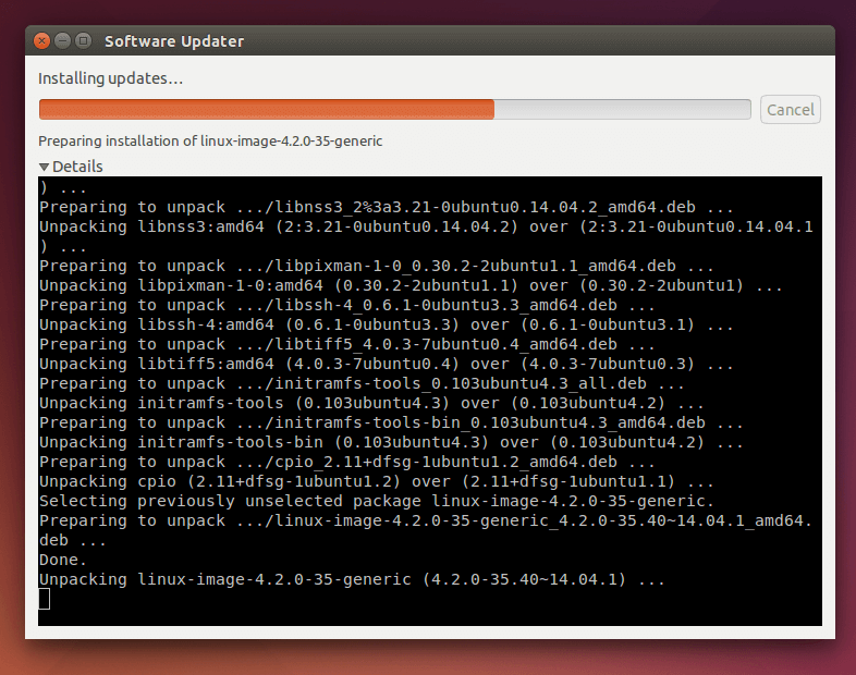 Installing-Ubuntu-Software-Updates