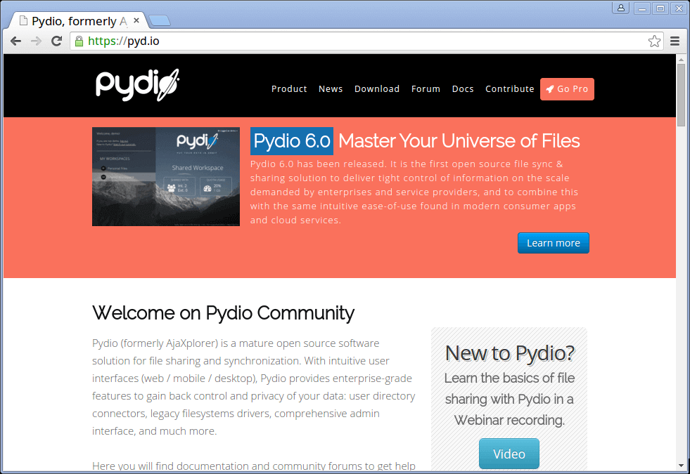 Pydio-Cloud-Storage