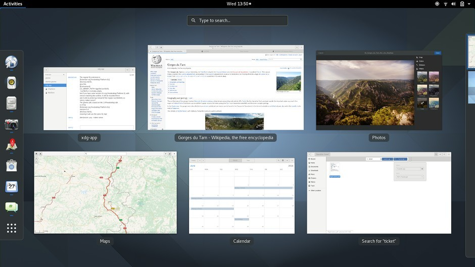 Desktop-Environment-GNOME