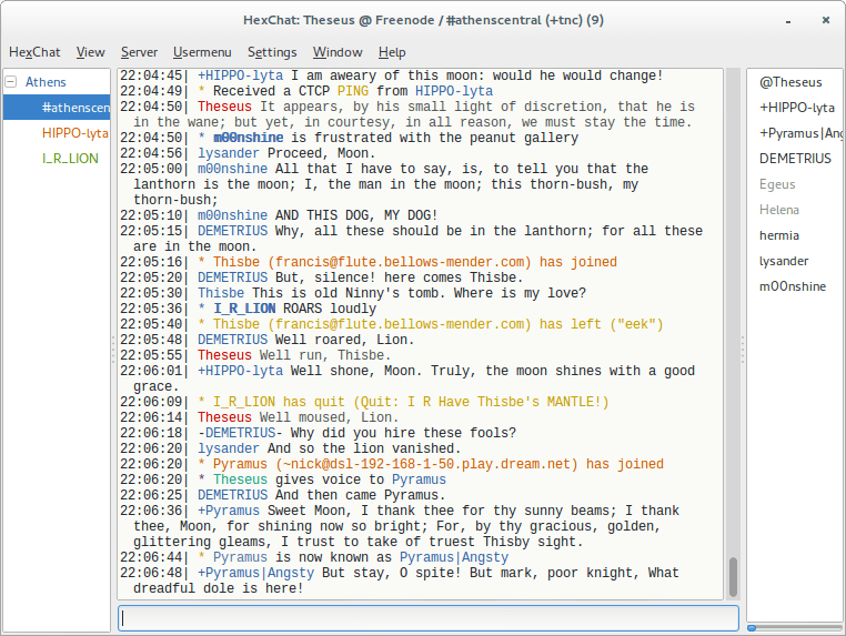 HexChat-IRC-Client-for-Linux
