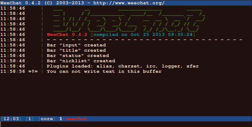 WeeChat-IRC-Client-for-Linux
