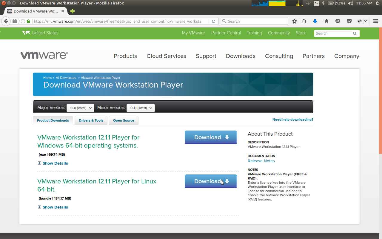 018-1-go-to-vmware-site-to-download-vmware-player-12-11