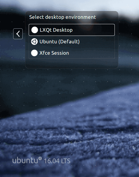 select-lxqt-desktop-at-ubuntu-login
