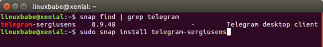 install-telegram-on-ubuntu-16-04-via-snap-package-661x96